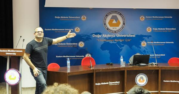 Famous Turkish Physicist Prof. Dr. Bayram Tekin Delivers Presentation at EMU